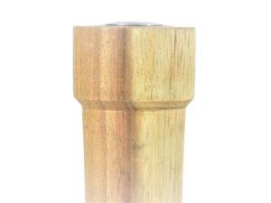 kandelaar, houten kandelaar