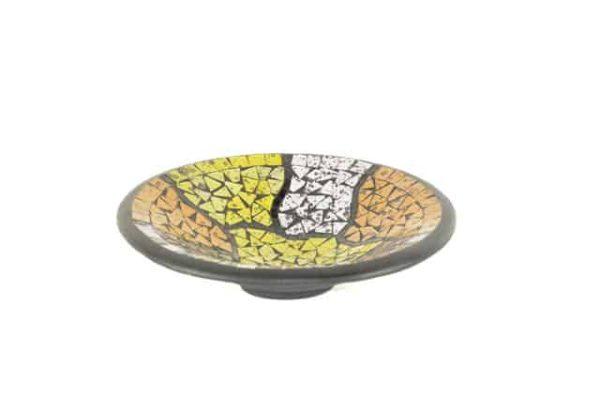 fruitschaal, mozaiekschaal