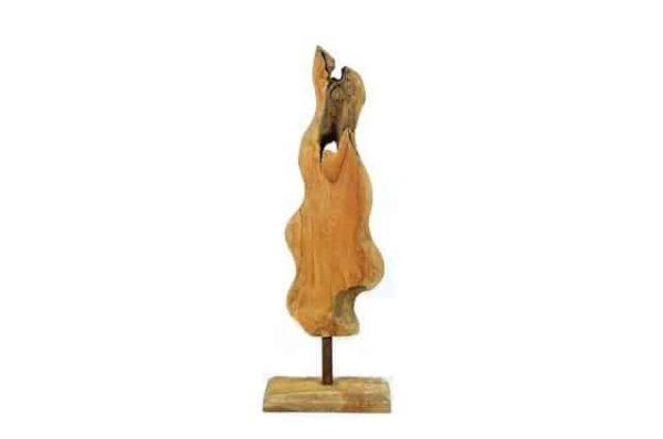 teakhout, wortelhout, sculptuurhout, teakhoutensculptuur