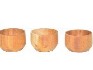 houten kom, houten bakje