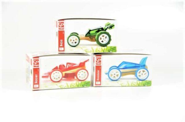 bamboe auto, hape auto