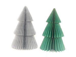 kerstboom papier, kleine kerstboom, pop up kerstboom