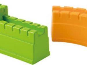 zandvorm chinese muur, zandvorm muur, metselvorm, hape