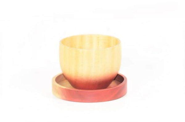 theekom, houtenkom
