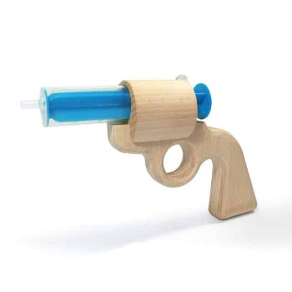 waterpistool, waterpistool hout