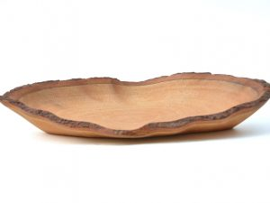 houten schaal, houten fruitschaal