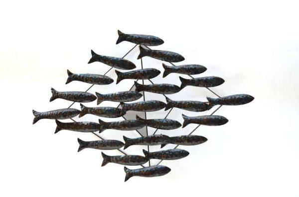 walldeco vissen, vissen
