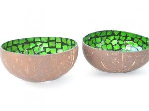 coconut bowl, kokosnoot schaal, kokosnoot kom