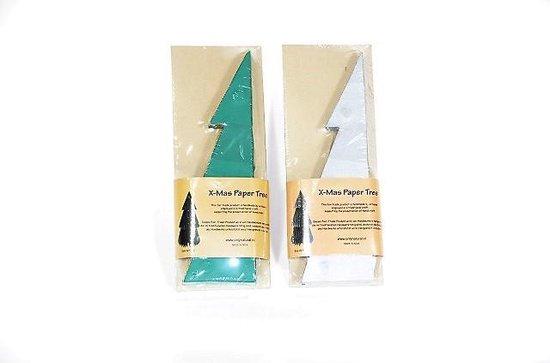 kerstboom papier, duurzame kerstboom