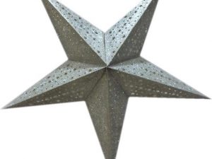 kerstster, paper star, only natural