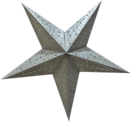 kerstster, paper star, only natural
