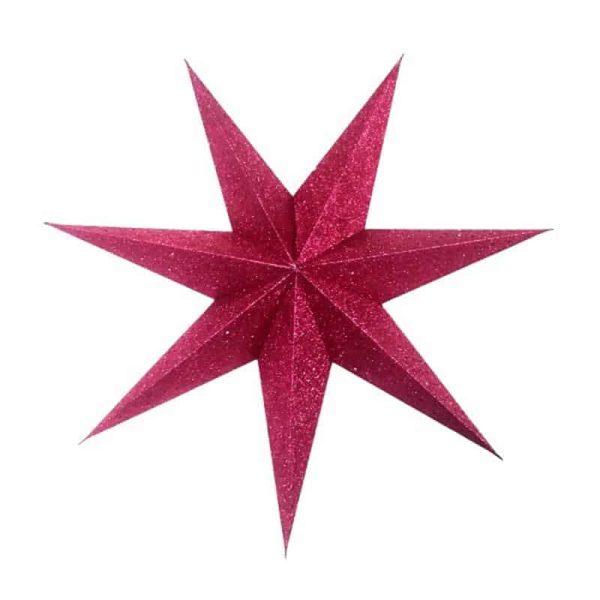 kerstster, papieren ster, only natural