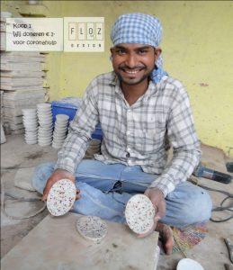 zeepbakje India doneeractie