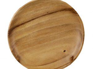 houten gebaksbord