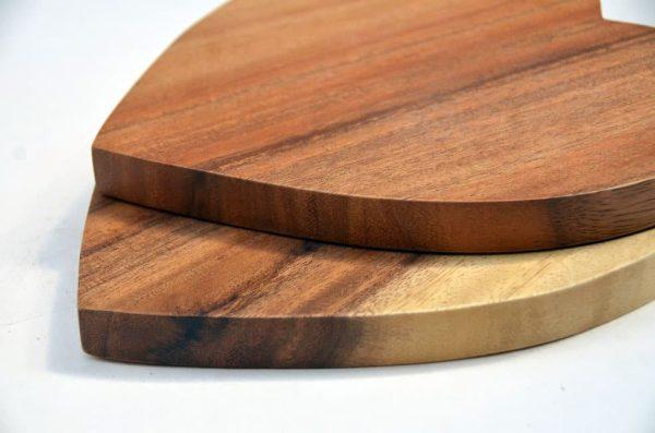 houten hart persoonlijke tekst graveren