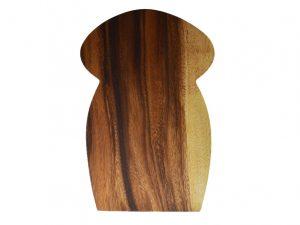 snijplank hout broodvorm