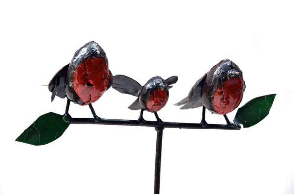tuinsteker roodborstjes