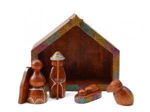 duurzame kerststal hout fairtrade