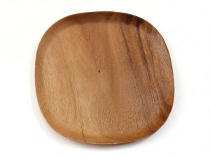 houten ontbijtbord vierkant