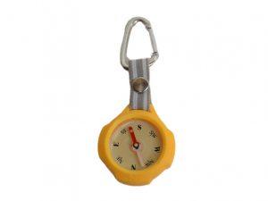 kompas karabijnhaak sleutelhanger